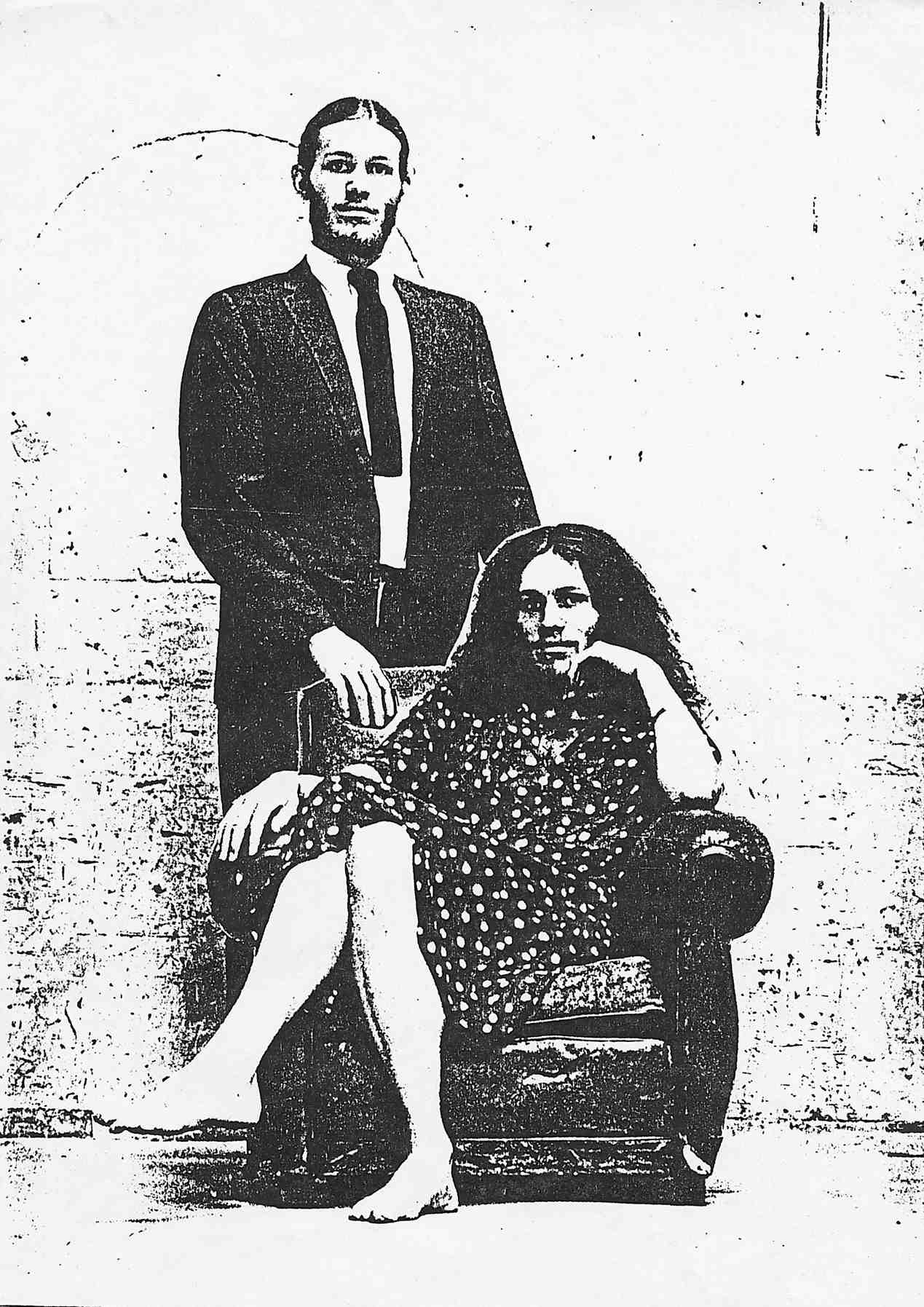 portrait of John & Doris